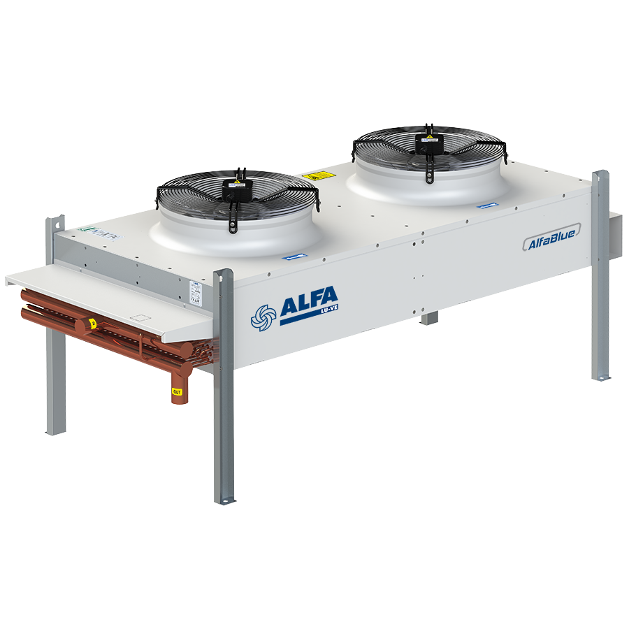 AlfaBlue Junior AG502-V - commercial condensers
