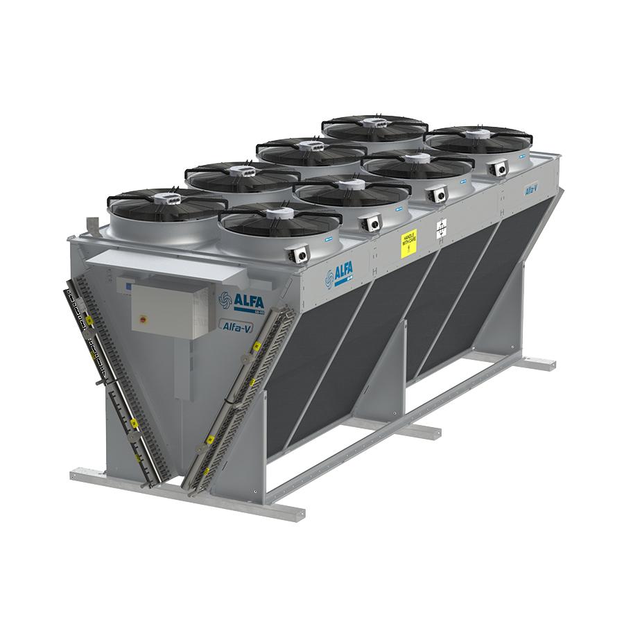 Alfa-V ANV - Condensers V-type NH3